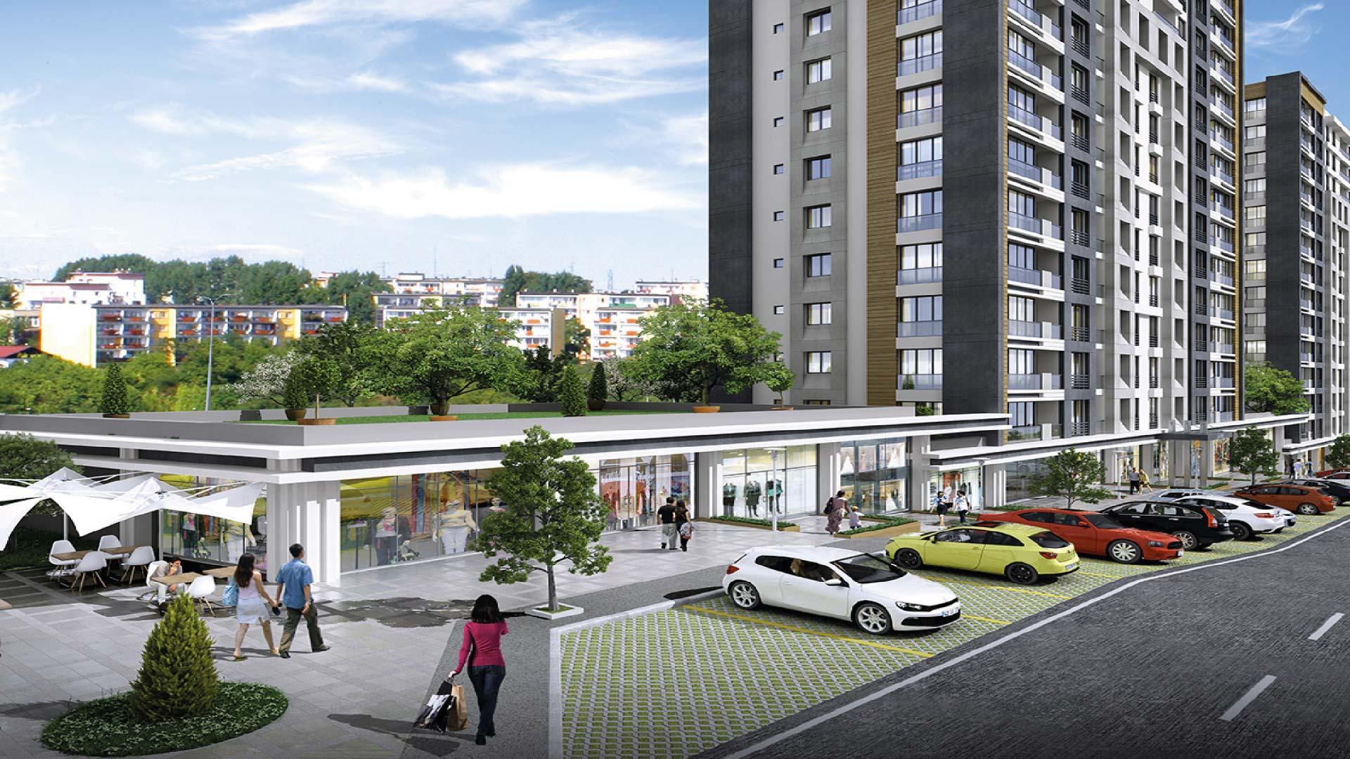 شقق سكنية للبيع في إسطنبول – بيرم باشا