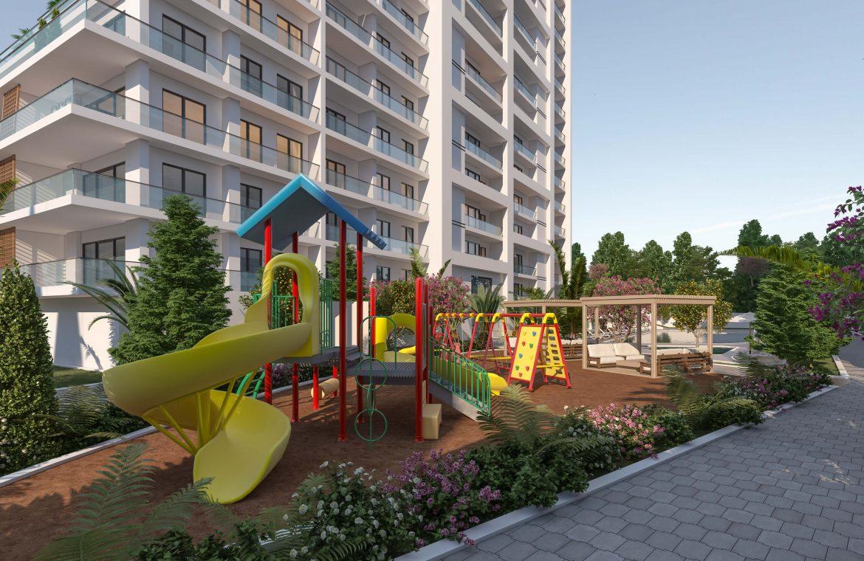 مشروع في منطقة اسنيورت في القسم الأوروبي من إسطنبول